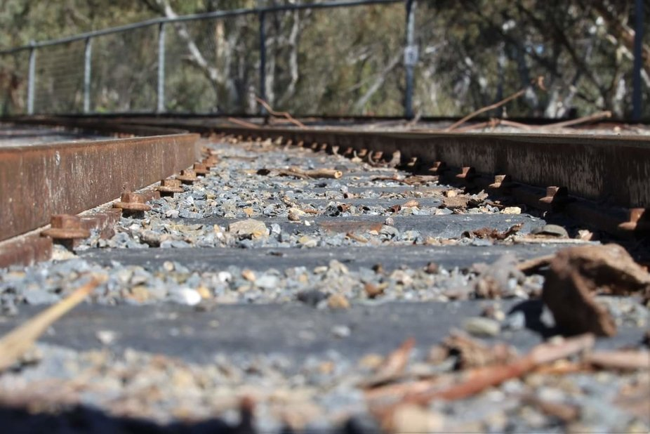 I stumbled across this miniature train track on a walk through a local reserve. Changing up my pe...