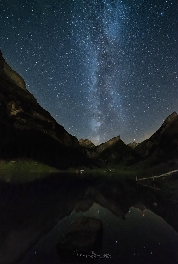 Milky above the Säntis by mb_lichtbild - Capture The Milky Way Photo Contest
