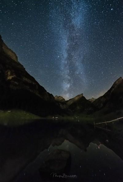 Milky above the Säntis