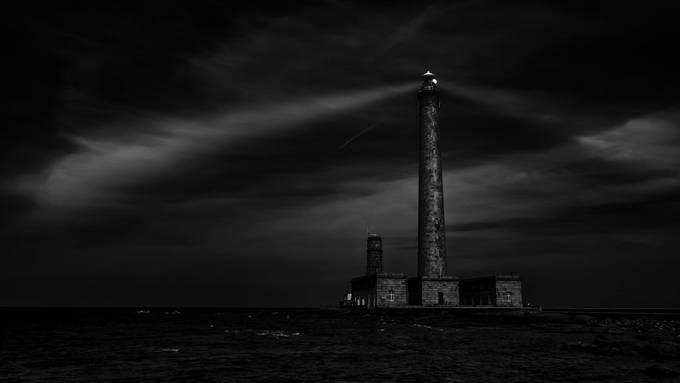 Lighthouse, Normandy France, september 2018