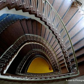 Spiral Stairs in a Nuremberg Building