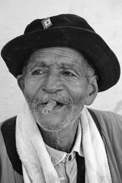 The friendly old Cuban
