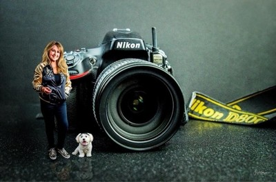 Me, Gizmo and My Camera