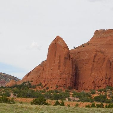 Red Sandstone Mesa on I-40