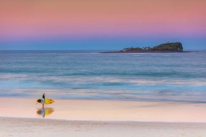 Sunset  Paddle by marshlata - Creative Landscapes Photo Contest vol3