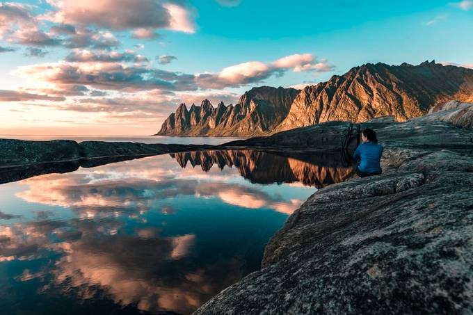 Loving the view by paaluglefisklund - Sitting In Nature Photo Contest