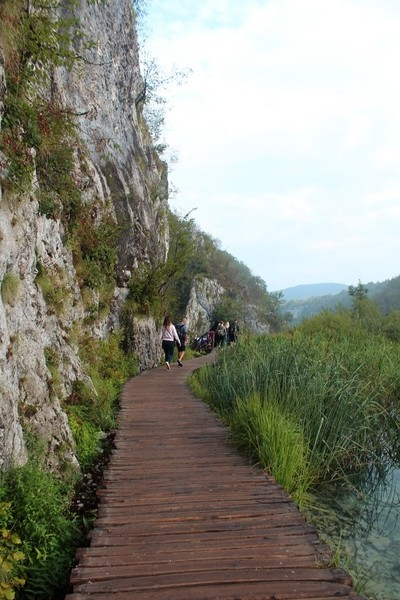 Hiking route at Plitvice Lakes National park