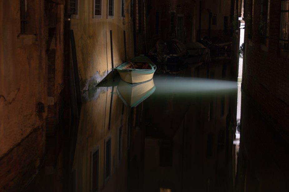 Boat. Venice