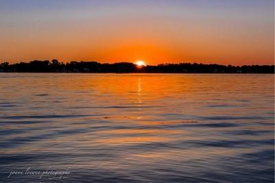 Michigan sunset!