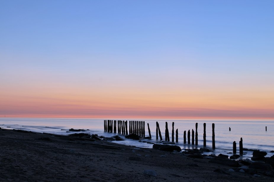 This was taken on June 21st... The longest day.  I arrived at Spurn Point at around 2am in the pi...