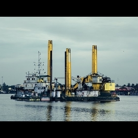 Cochin shipyard, Kerala - India