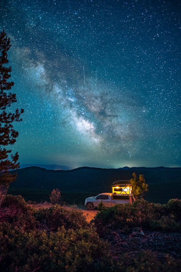Starry Night Camping by austinwhite - Capture The Milky Way Photo Contest