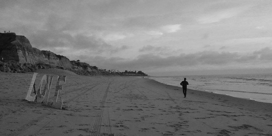 San Clemente Beach, California