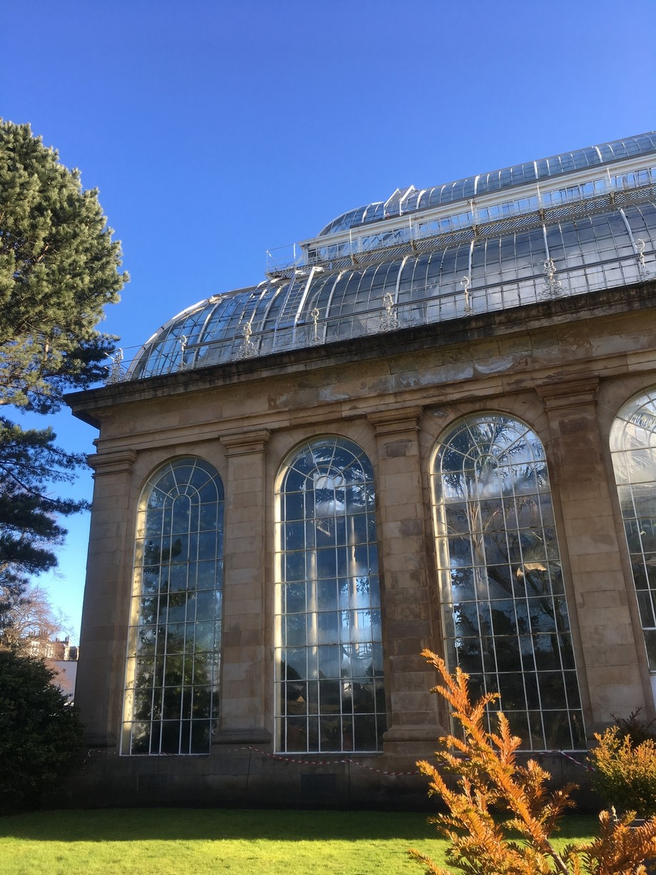 One of Edimburgh's most intriguing places: the Royal Botanical Garden, overwhelming even...