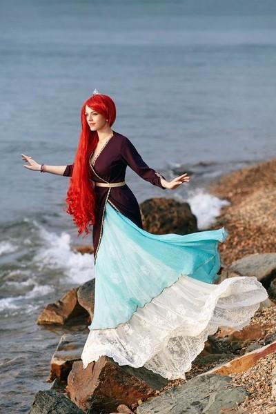 Ariel cosplay photoshoot