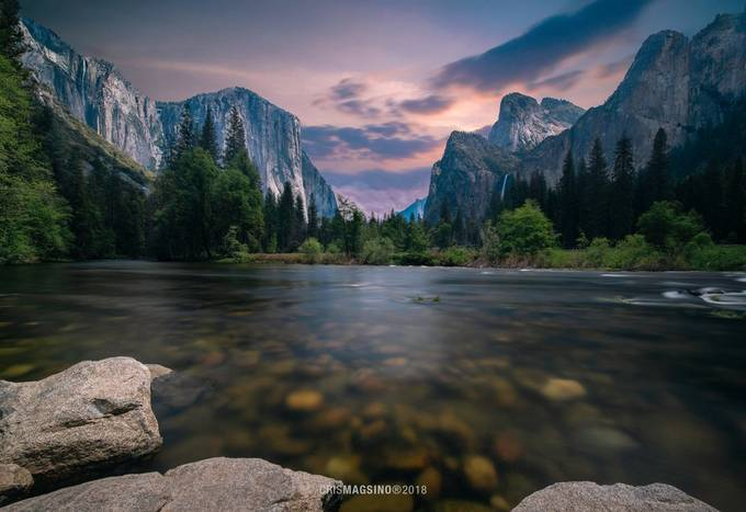 Yosemite River by crismagsino - Image Of The Month Photo Contest Vol 37