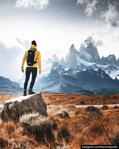 hiking at El Chalten - Patagonia