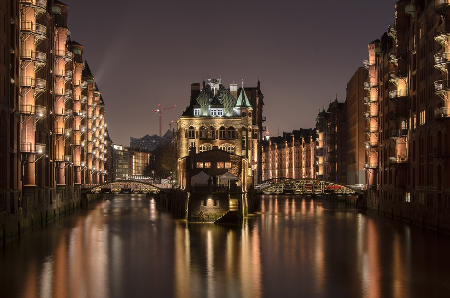 """Xmas photo trip to Hamburg and this """"castle"""" is a much you have to pass when yo..."""