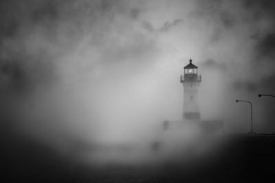Through the Sea Smoke