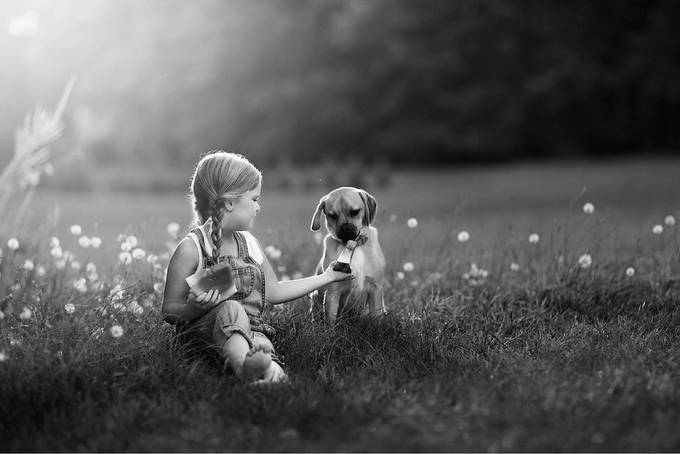 Sharing is caring by nicolekost - Our World In Black And White Photo Contest