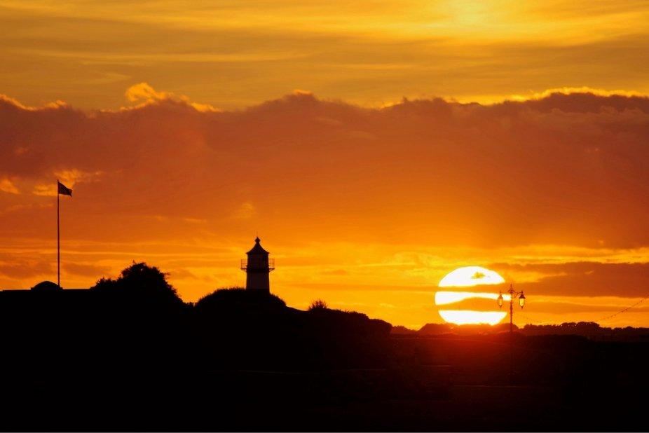 Southsea Castle Sunset