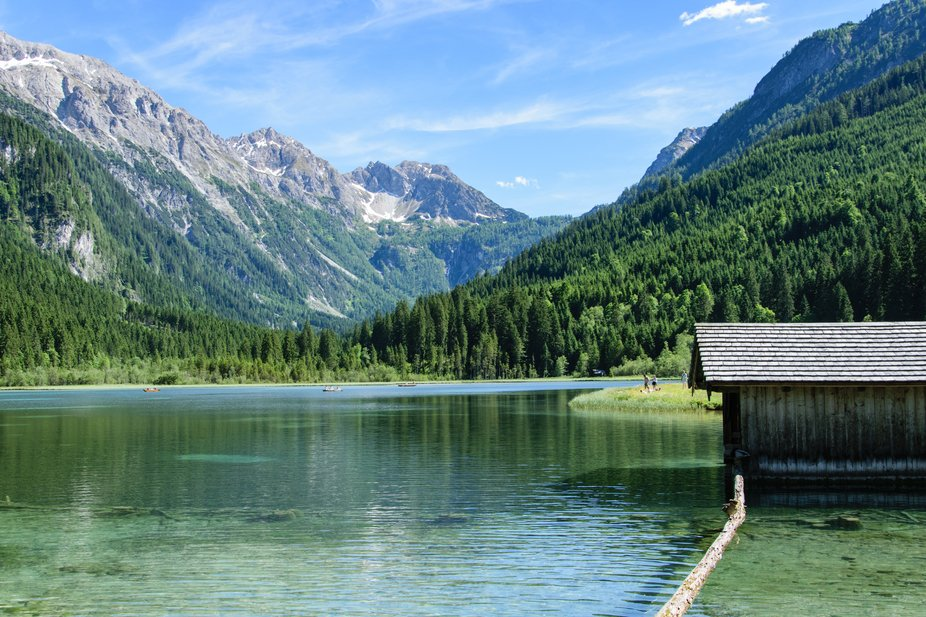 There are so many beautiful lakes here in Austria