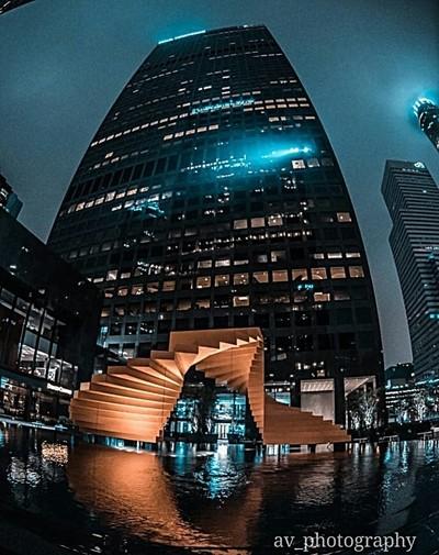Downtown fish eye