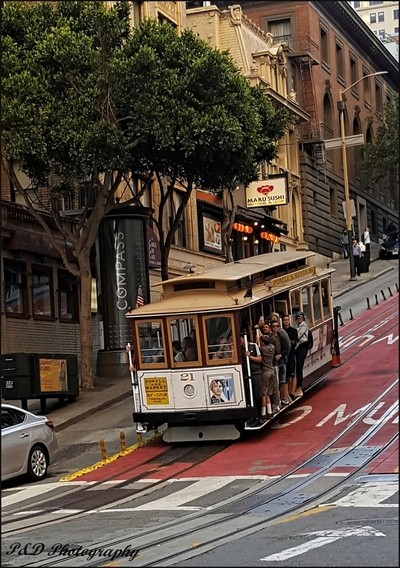 Powell and Mason St Tram