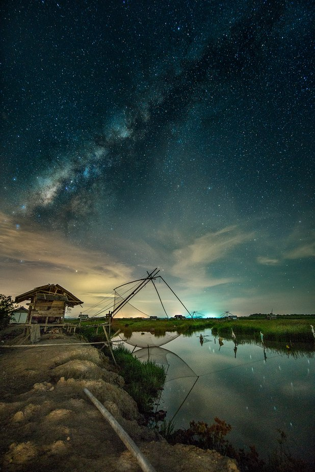 Phattalung Milky Way by Kamsing - Night Wonders Photo Contest