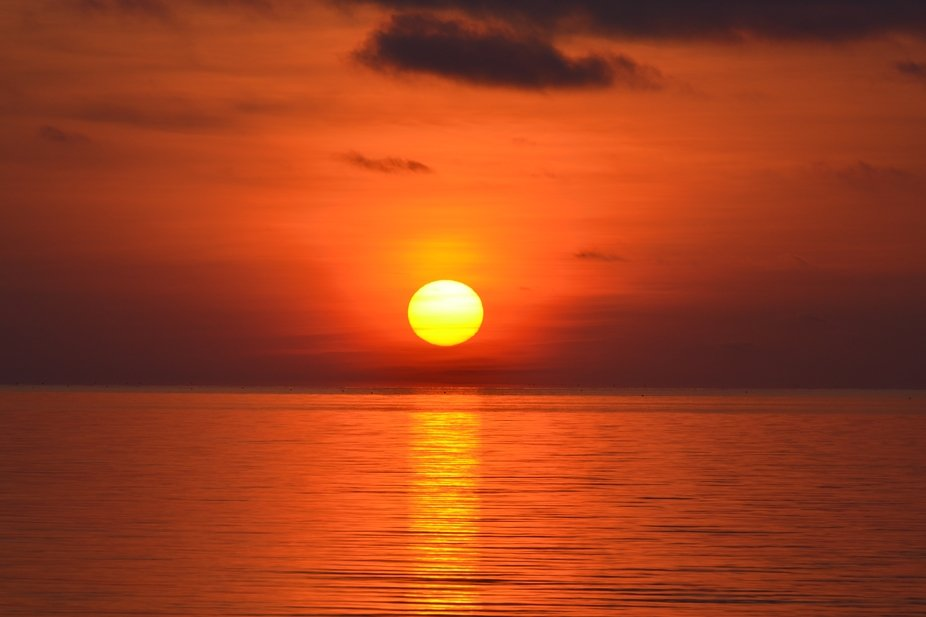 Campsite sunrise in the Florida Keys