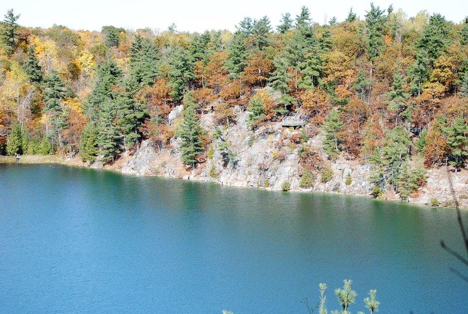 Pink Lake, Gatineau park, Quebec