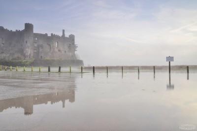 Laugharne morning mist