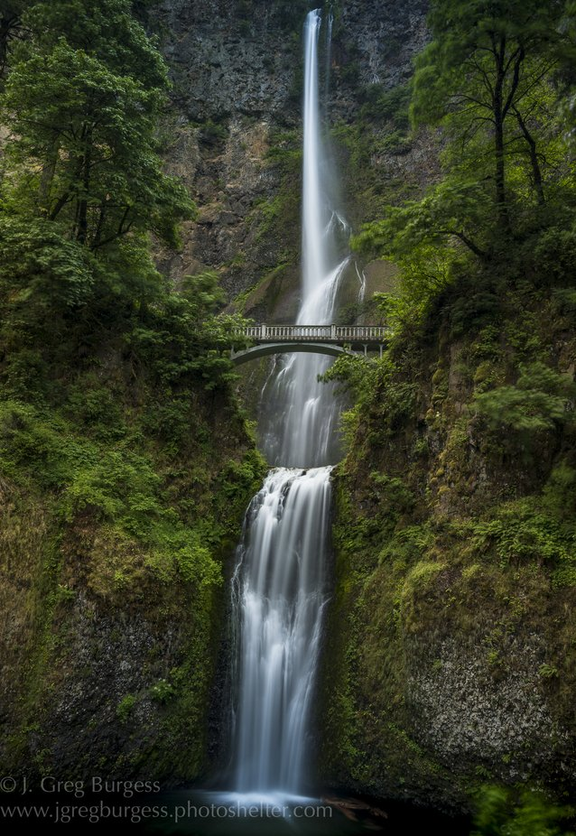 Multnomah Falls, Columbia River Gorge Area, OR by jgburgess - An Unforgettable Adventure Photo Contest
