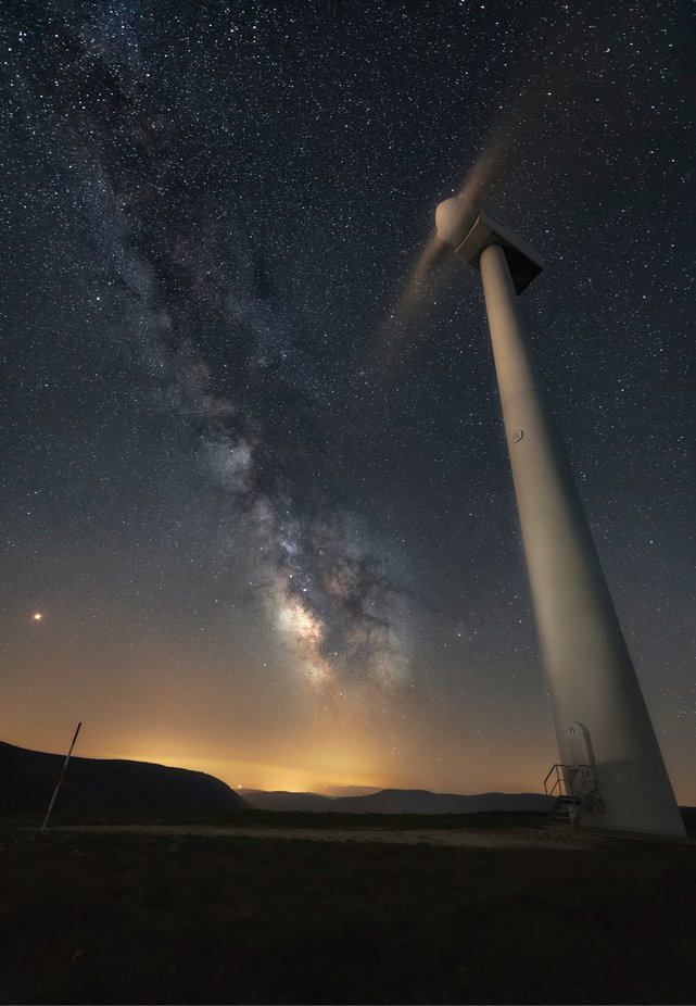 Renewable energies by Sergio_Saavedra - Capture The Milky Way Photo Contest