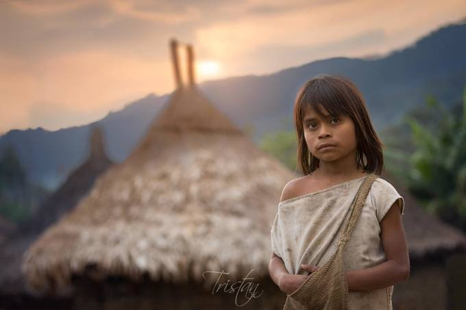 kogui child  sierra nevada de santa marta colombia by tristan29photography - Image Of The Month Photo Contest Vol 37