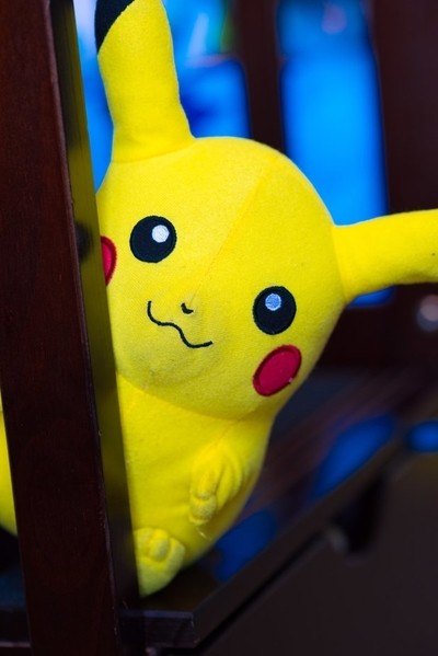 Peek-a-boo Pikachu