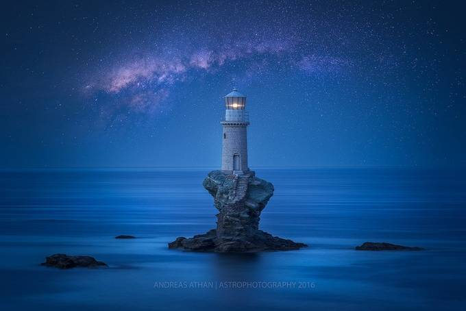 Tranquility  by andreas_athan - Capture The Milky Way Photo Contest