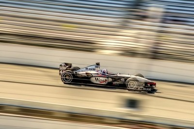 Coulthard F1 at Indy
