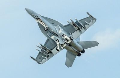 US Navy F-A-18F Super Hornet