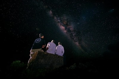 Friends and milky way