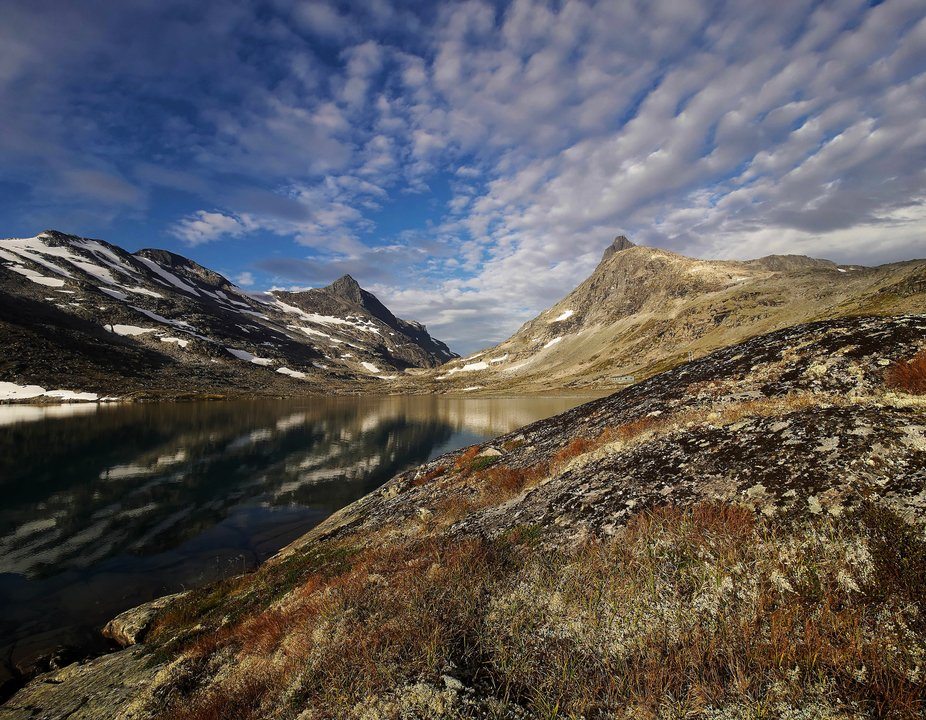 Fascinating peaks and one of the gateways in to the tenderloin of Jotunheimen national park