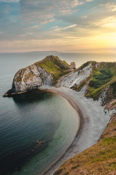 Durdle Door at sunset