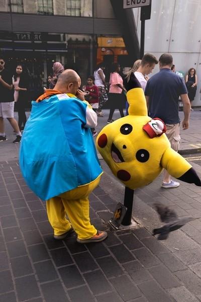 Pikachu got tired