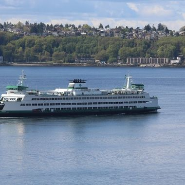 Seattle ferry to Bainbridge Island