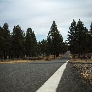 A nice shot of a long road going off into the distance in the Thomas Mountain area in California.  Going through some older photos that I haven't gotten to do much of anything with as far as post-processing, now adding here to share.
