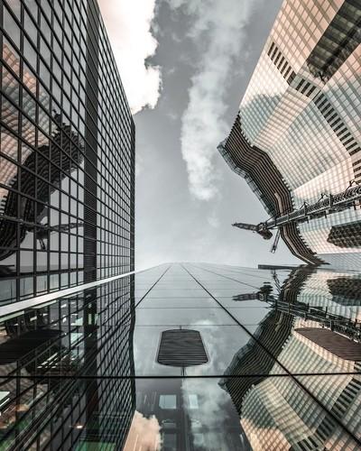 Look up, skyscrapers