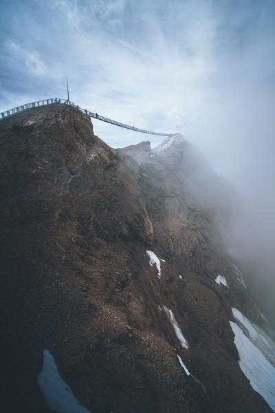 Bridge over Glacier3000
