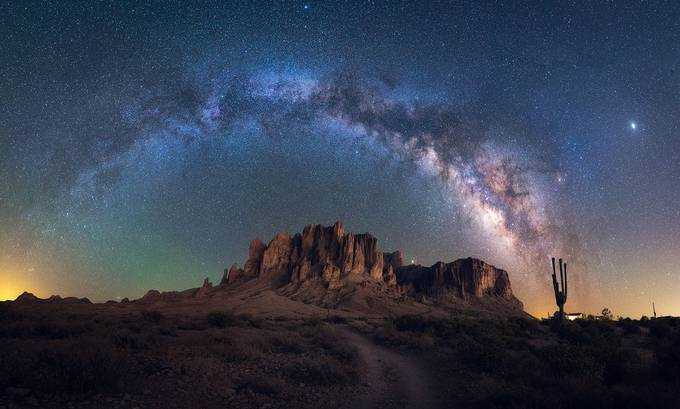Road to the Galaxy by arpandas - The Night Sky And The Stars Photo Contest