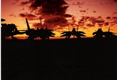 Wolfpack VF1 on the USS Ranger
