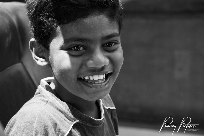 Beautiful Smile Of A Kid!